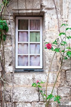French Country Photography Cottage Window by GeorgiannaLane