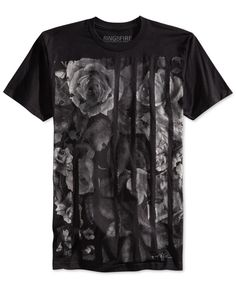 Ring of Fire Floral Brush Stroke T-Shirt