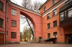 A. I. Gegello, A. S. Nikolskii, G. A. Simonov, Traktornaia Street Residential Development, St. Petersburg. 1925-1927