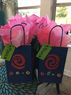 Moana Goodie Bag #Moana #Disney #MoanaGoodieBag #MoanaParty #MahaloThanksinHawaiian