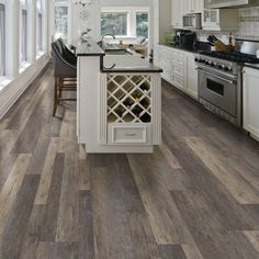 Coreluxe by tranquility 7mm driftwood hickory evp for Coreluxe engineered vinyl plank installation