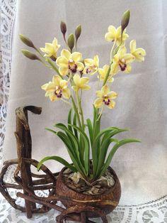 Керамическая флористика создаем орхидею Цимбидиум . Обсуждение на LiveInternet - Российский Сервис Онлайн-Дневников