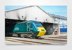 Available as canvas, metal and wooden block prints. Next Wall Art, Uk Rail, Wall Art Prints, Canvas Prints, Old Trains, Diesel Locomotive, Wall Art Pictures, Wooden Blocks, Block Prints