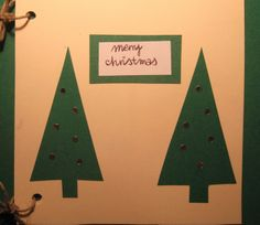 Christmas card DIY
