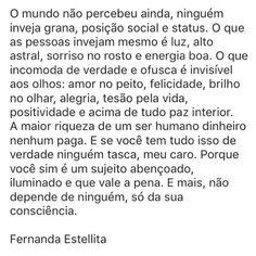 """1,394 curtidas, 28 comentários - ByNina (Carolina Carvalho) (@instabynina) no Instagram: """"Muitas verdades... #regram @fernandaestellitaoficial #frases #vida #pessoas #comportamento"""""""