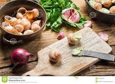 Afbeeldingsresultaat voor snails garlic