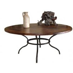 Mathews and Co. Woodland 72-inch Round Dining Table