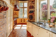 chateau france renaissance kitchen northwest revival nytimes french slide rustic
