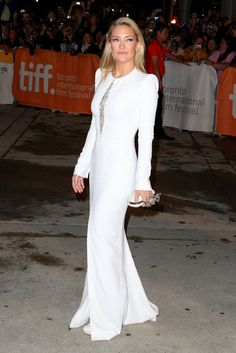 Kate Hudson does head to toe white at TIFF