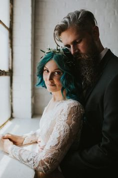 This stunning and strong bride left her wheelchair to walk down the aisle at her wedding  | Image by Love Stories by Halie and Alec