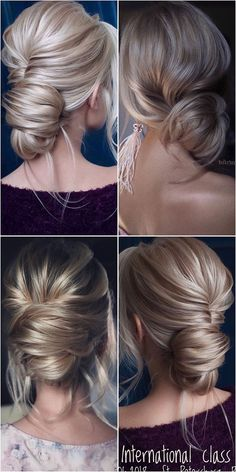 Wedding Hairstyles Updo 60 Best Wedding Hairstyles from Tonyastylist for the Modern Bride: Each of these stunning hair ideas will finish off your best outfit. Short Updo Wedding, Elegant Wedding Hair, Short Hair Updo, Wedding Hairstyles For Long Hair, Bride Hairstyles, Trendy Wedding, Easy Hairstyles, Classic Updo Hairstyles, Upstyle Wedding Hair