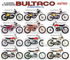 Bultaco Astro Flat Trackers
