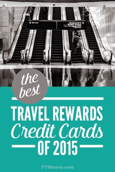 Do you love to travel, but the costs are just too high? Consider a great credit card rewards program where the points send you on your next vacation for free! PT picks the 7 best travel rewards credit cards in 2015 and tells you exactly how to get one. Credit Card Hacks, Rewards Credit Cards, Best Credit Cards, Ways To Save Money, Money Saving Tips, Money Tips, Travel Rewards, Credit Card Offers, Travel Tips