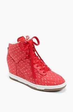4f7054258f289d Nike Dunk Sky  nike  sneakers Red Wedge Sneakers