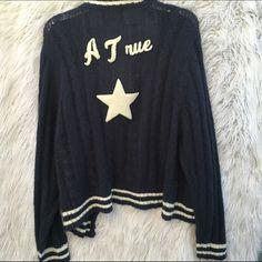 "Spotted while shopping on Poshmark: ""WILDFOX SZ L A TRUE STAR CARDIGAN SWEATER""! #poshmark #fashion #shopping #style #Wildfox #Sweaters"