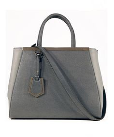 Look at this Gray 2jours Leather Tote on #zulily today!