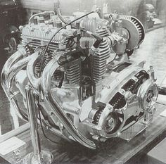 1968 Triumph Trident Engine Sectioned