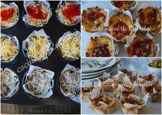 Empanadillas de jamon y champiñones