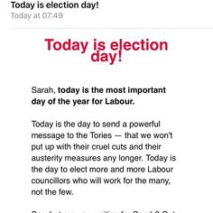 Unsolicited emails- unsubscribed 5 times now. #labourparty #gdpr #stop