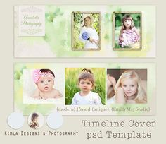Timeline Cover Watercolor Summer psd file by KimlaDesigns on Etsy, $8.00