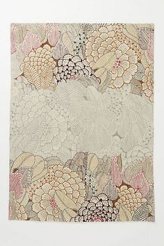 Mutabilis Rug from @Anthropologie .