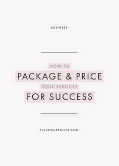 Business advice - How to Package and Price Your Services for Success – Business advice Branding Your Business, Business Advice, Small Business Marketing, Business Design, Creative Business, Online Business, Business Meme, Small Business Consulting, Corporate Design