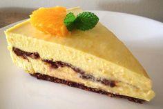 Raw Vegan Orange & Chocolate Cheesecake | RawFoodforLife.org