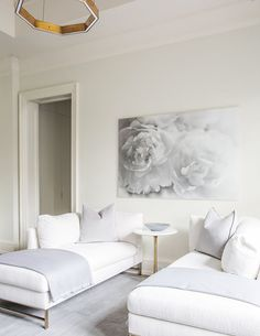 Ideas soft seating area sofas for 2019 Living Room White, White Rooms, Formal Living Rooms, Living Room Sets, Home Living Room, Living Room Decor, Living Spaces, Small Living, Modern Living
