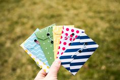 DIY gift card envelope #tutorial #papercrafts #scrapbook