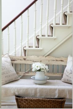 Swedish style decor with soft colors