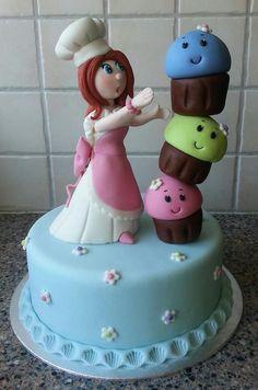 Cupcakes baker cake