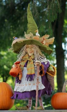 A nature witch---I love her and need to recreate!