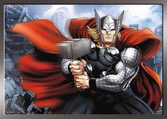 Trefl-4in1-Puzzle-35-48-54-70-Teile-Marvel-Avengers-34245-Hulk-Thor-Ironman