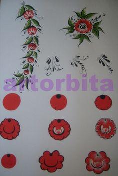 Figure. Berries and buds - Gorodetskaya painting