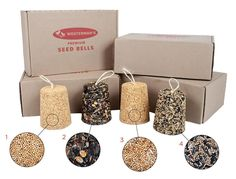 Westerman's Bird Seed Bells Various Seeds Yellow Maize, Budgies, Wild Birds, Seeds, Place Card Holders, Club, Products, Parakeets, Gadget