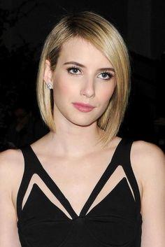 We love Emma Roberts sleek new look!