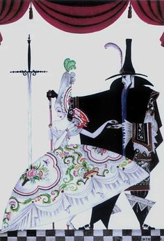 """Kay Nielsen - """"She was forced to produce the key."""""""