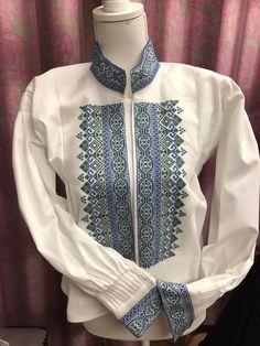 FINN – Beltestakk skjorte Cross Stitch Patterns, Bomber Jacket, Jackets, Fashion, Down Jackets, Moda, Fashion Styles, Fashion Illustrations, Bomber Jackets