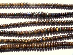 Lots of strands of gorgeous Australian Boulder Opal Beads available in our store :) ..........