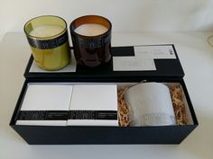 Ultra lavish gift 3 x natural soy candles 160 hours of burn time