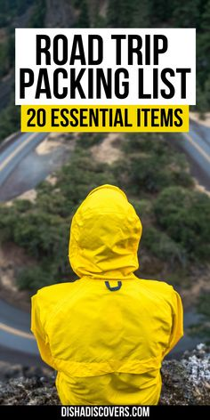 Road Trip Packing List: 20 Things You Shouldn't Travel Without | road trip essentials | road trip packing list | summer road trip packing list | things to bring on a road trip packing lists | cross country road trip packing list | what to take on a road trip packing lists | things to take on a road trip packing lists | what to bring on a road trip packing lists | long road trip packing list | road trip essentials list #roadtrip #roadtrippackinglist #roadtripessentials Road Trip Packing List, Packing Tips For Vacation, Road Trip Essentials, Travel Packing, Packing Lists, Travel Tips, Road Trips, Travel Hacks, Best Road Trip Songs