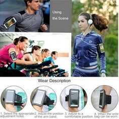 Sports Armband Gym Running Jog Case Mobile Phone Arm band Holder sleeve for iPhone 6/6S