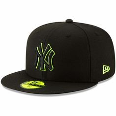 New York Yankees Black New Era 2019 Clubhouse Collection 59FIFTY Fitted NWT