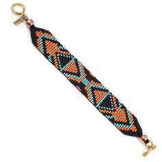 Bead It! Bracelet - Orange