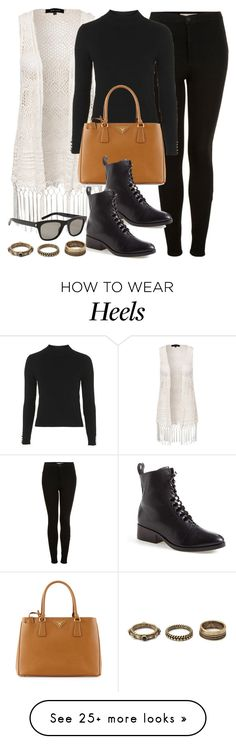 """""""Style #9572"""" by vany-alvarado on Polyvore featuring Topshop, New Look, Prada, 3.1 Phillip Lim, Yves Saint Laurent and Forever 21"""