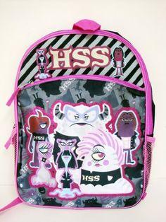 "Disney Monsters University HSS, Monsters Inc. Large Backpack 16"" New Disney Monsters University http://www.amazon.com/dp/B00DMD3CDO/ref=cm_sw_r_pi_dp_41GJtb14CX20DF7M"