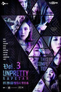 """Transmisión especial en vivo de """"Unpretty Rapstar 3"""" influenciará fuertemente las eliminaciones"""