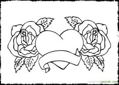 Advanced Heart Coloring Pages Printable - Coloring Pages For All Ages