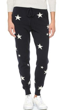 Chinti and Parker Star Cashmere Pants