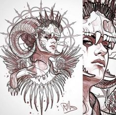 20 Ideas Dark Art Drawings Sketches Ideas For 2019 Dark Art Drawings, Tattoo Design Drawings, Art Drawings Sketches, Tattoo Sketches, Cool Drawings, Tattoo Designs, Tattoo Artwork, Black Tattoo Art, Tatoo Art